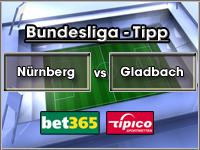 Bundesliga Tipp Nürnberg vs Gladbach