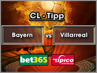 Champions League Bayern vs Villarreal