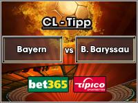 Champions League Tipp Bayern vs Bate Baryssau