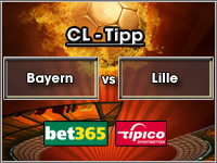 Champions League Tipp Bayern vs Lille
