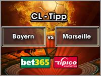 Champions League Tipp Bayern vs Marseille