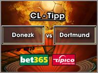 Champions League Tipp Schachtjor Donezk vs Dortmund