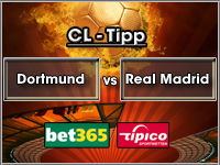 Champions League Tipp Dortmund vs Real Madrid