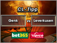 Champions League Tipp Genk vs Leverkusen