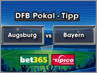 DFB Pokal Tipp Augsburg vs Bayern