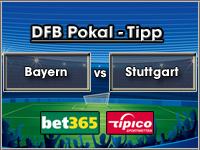 DFB Pokal Tipp Bayern vs Stuttgart