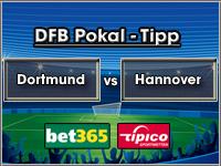 DFB Pokal Tipp Dortmund vs Hannover