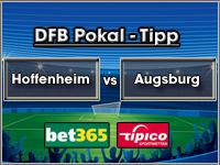 DFB Pokal Tipp Hoffenheim vs Augsburg