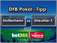 DFB Pokal Tipp Hoffenheim vs Greuther Fürth