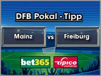 DFB Pokal Tipp Mainz vs Freiburg