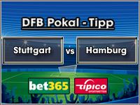 DFB Pokal Tipp Stuttgart vs HSV