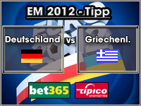 EM 2012 Tipp Deutschland vs Griechenland