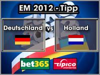 EM 2012 Tipp Deutschland vs Holland