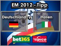EM 2012 Tipp Deutschland vs Italien