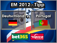 EM 2012 Tipp Deutschland vs Portugal
