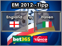 EM 2012 Tipp England vs Italien