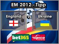 EM 2012 Tipp England vs Ukraine