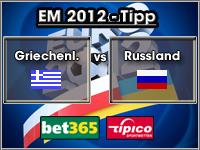 EM 2012 Tipp Griechenland vs Russland