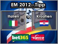 EM 2012 Tipp Italien vs Kroatien