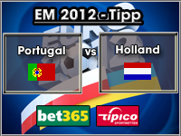 EM 2012 Tipp Portugal vs Holland