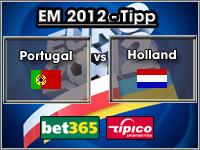 EM 2012 Tipp Portugal vs Holland