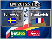 EM 2012 Tipp Schweden vs Frankreich