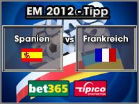 EM 2012 Tipp Spanien vs Frankreich
