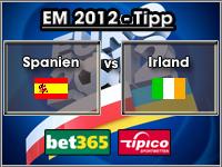 EM 2012 Tipp Spanien vs Irland