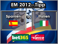 EM 2012 Tipp Spanien vs Italien