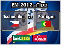 EM 2012 Tipp Tschechien vs Portugal