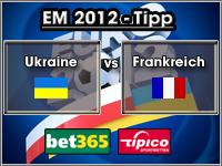 EM 2012 Tipp Ukraine vs Frankreich