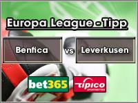 Europa League Tipp Benfica Lissabon vs Leverkusen