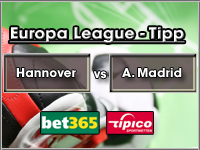 Europa League Tipp Hannover vs Atletico Madrid