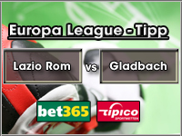 Europa League Tipp Lazio Rom vs Gladbach