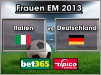 Frauen EM 2013 Tipp Italien vs Deutschland