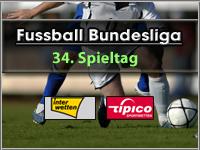 34. Bundesliga Spieltag