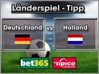 Länderspiel Deutschland vs Holland