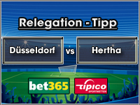 Relegation Tipp Düsseldorf vs Hertha