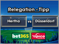 Relegation Tipp Hertha vs Düsseldorf