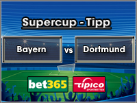 Supercup Tipp Bayern vs Dortmund
