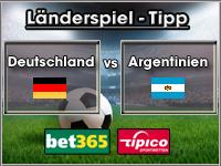 Länderspiel Tipp Deutschland vs Argentinien
