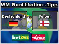 WM Qualifikation Tipp Deutschland vs Färöer