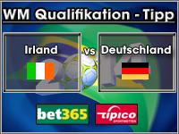 WM Qualifikation Tipp Irland vs Deutschland