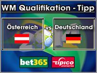 WM Qualifikation Tipp Österreich vs Deutschland