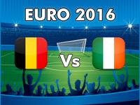 Belgien - Irland EM 2016