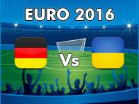 Deutschland - Ukraine EM 2016