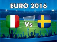 Italien - Schweden EM 2016