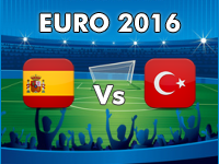 Spanien - Türkei EM 2016