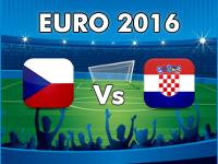 Tschechien - Kroatien EM 2016