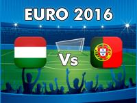 Ungarn - Portugal EM 2016